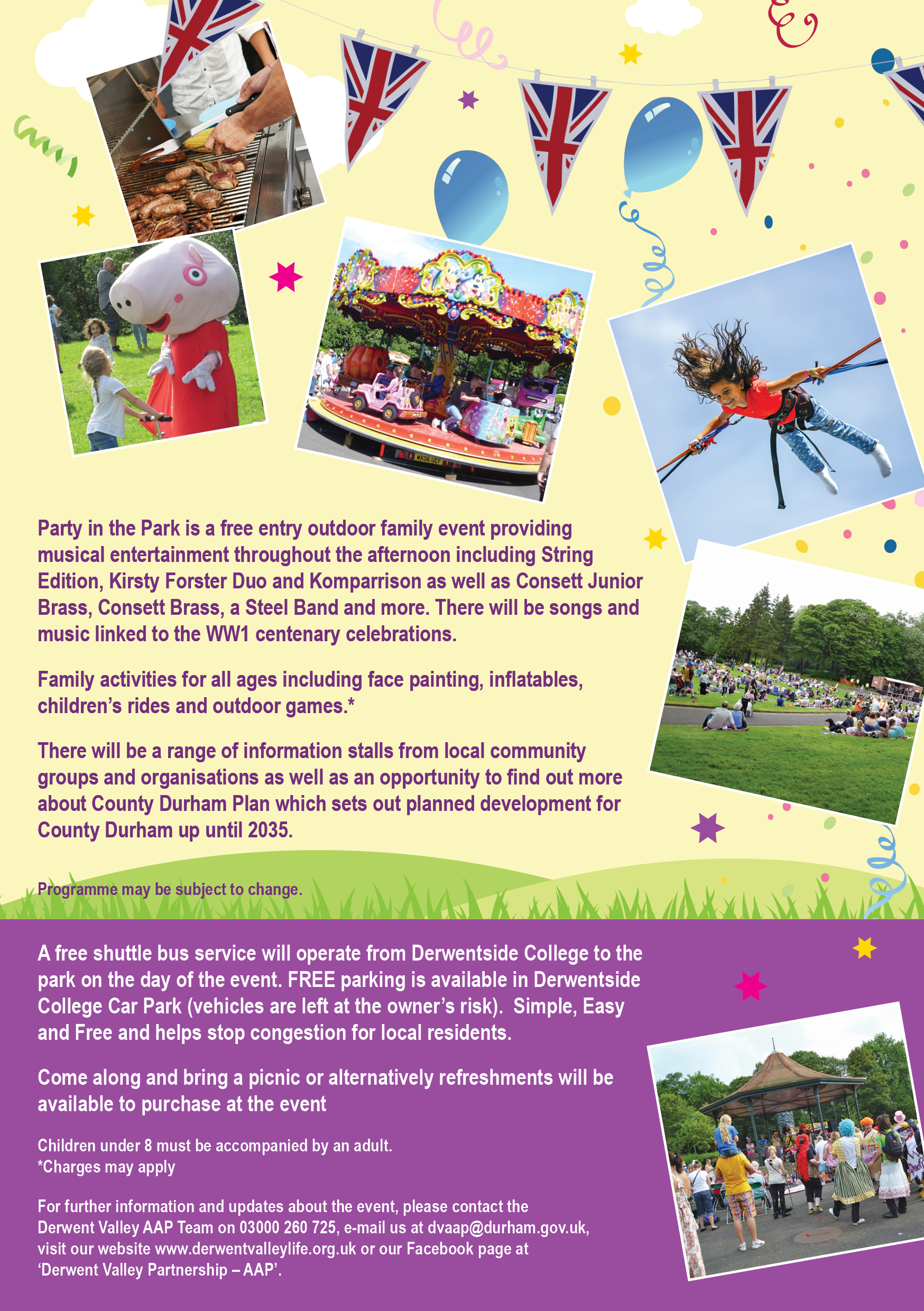 44240 AAP A5 Party in the Park Flyer 2018 2