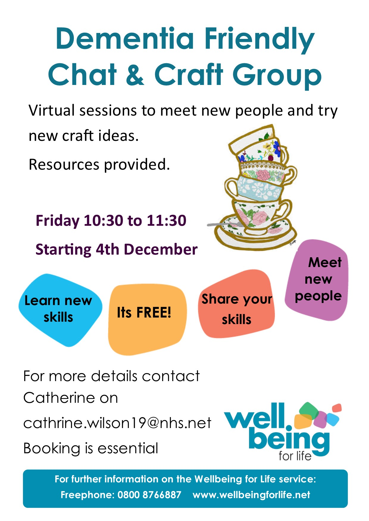 WBFL chat and craft